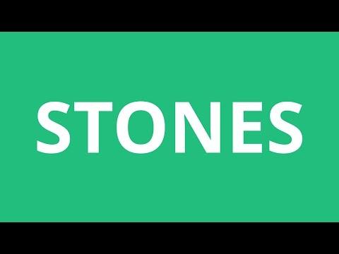 How To Pronounce Stones - Pronunciation Academy