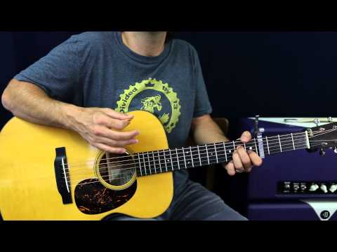 how to play something stupid on guitar