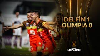 Olimpia vs. Delfín [0-1] | RESUMEN | Fase de Grupos | CONMEBOL Libertadores