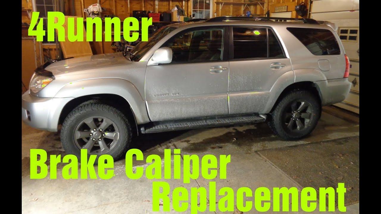 2007 Toyota 4Runner Sticking Brake Caliper Replacement