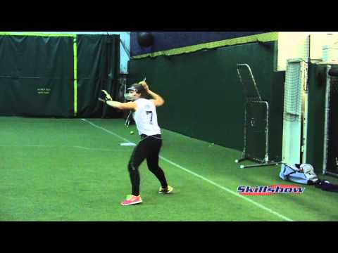 Emilee Kirk 2013 Recruiting Softball Video