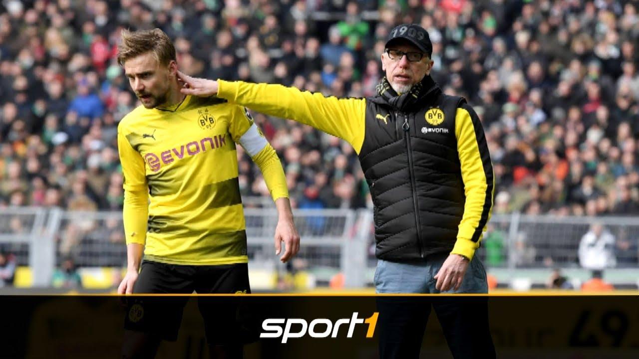 Borussia Dortmund: Peter Stöger lässt Marcel Schmelzer zappeln | SPORT1 - DER TAG