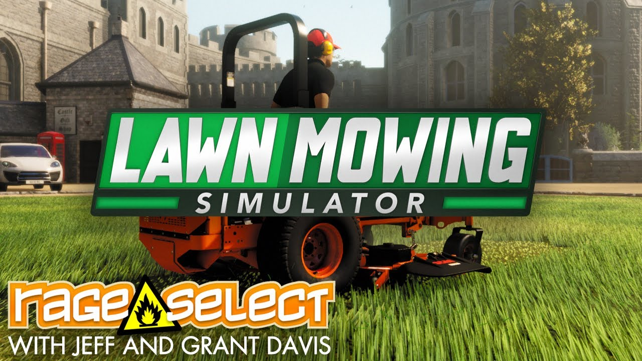 Lawn Mowing Simulator (The Dojo) Let's Play