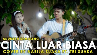 Download Lagu Kamu itu !!! CINTA LUAR BIASA - ANDMESH KAMALENG COVER BY NABILA SUAKA FT. TRI SUAKA mp3
