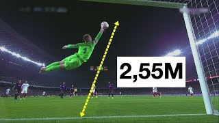 Unforgettable 25 Goalkeeper Saves In Football History ● Impossible To Forget - Part 1