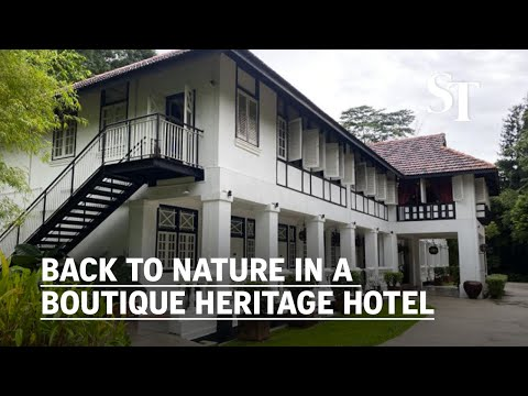 Back to nature in a boutique heritage hotel | Villa Samadhi Singapore | Suite Life thumbnail
