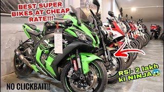 SECOND HAND SUPERBIKES STARTING AT RS/- 2 LAKH😱