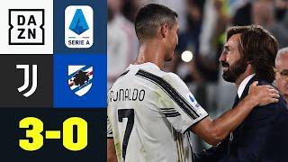 Pirlo-Premiere geglückt! Juve ungefährdet zum Auftaktsieg: Juventus - Sampdoria 3:0 | Serie A | DAZN
