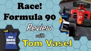 Race! Formula 90 Review - with Tom Vasel