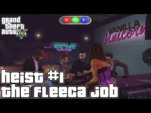 GTA Heists #1 The Fleeca Job on PS4