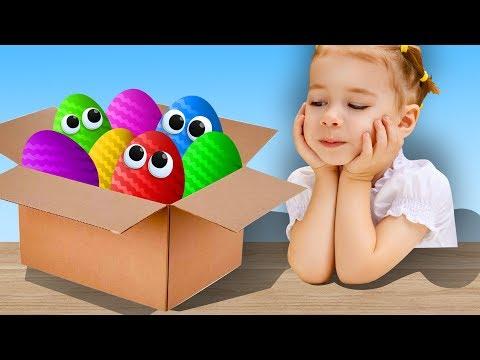 Видео: Мультики. Киндер Сюрприз. Фиксики, Смешарики, Лунтик, Говорящий Том, Вспыш. Мультик для детей