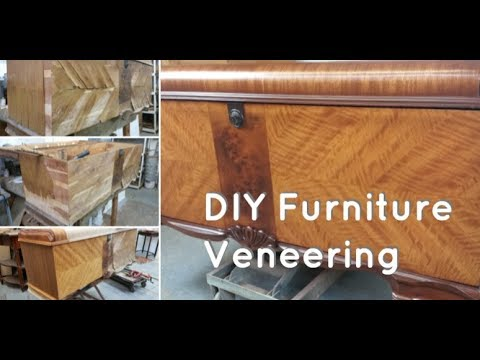 How To Replace Wood Veneer On Furniture Tutorial Furniture