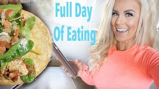 Full Day of Eating | Tracking Macros