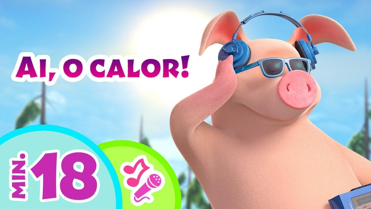 🌞 TaDaBoom Português 😎🍦 Músicas para um dia quente 🥥 Karaokê! 🎤 Masha e o Urso
