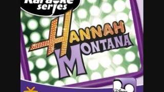 Hannah Montana- Just Like You (Karaoke/Instrumental) OFFICIAL