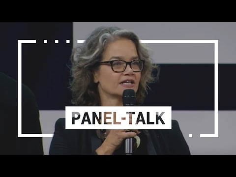 "Social Media Post: Panel-Talk ""Re-Invent Europe"" mit Claudia Nemat   Digital X..."