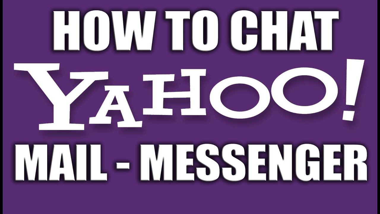 How To Chat With Friends In Yahoo! Mail  Yahoo Email Services