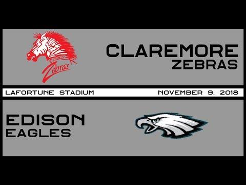 Football: Claremore vs Edison