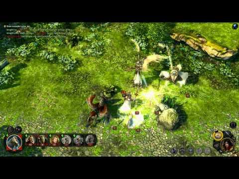 Might&Magic:Heroes VI Angels Combat Gameplay |