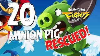 Angry Birds Fight! Minion Pig RESCUED! - iOS, Android