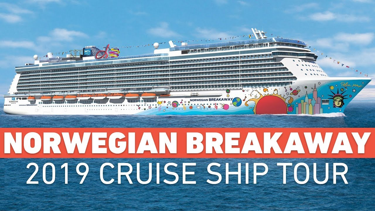 Norwegian Breakaway Norwegian Cruise Line Ship Tour 2019 Youtube