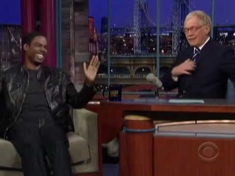 Chris Rock Talks About the David Letterman Sex Scandal