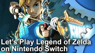let s play zelda breath of the wild on nintendo switch