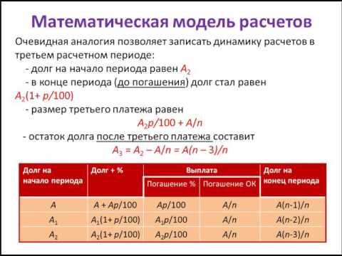 Дифференцированный платеж задачи решение 2 класс решение задач в 2 действия