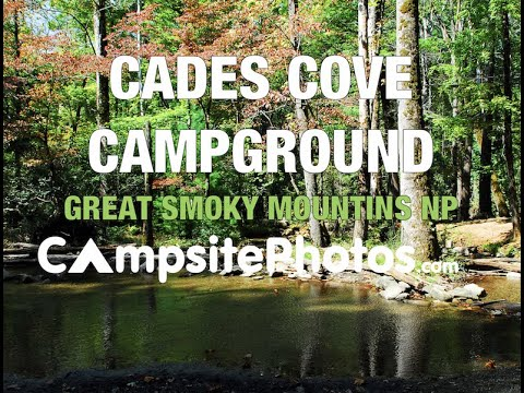 Cades Cove Campground Great Smoky Mountains National Park