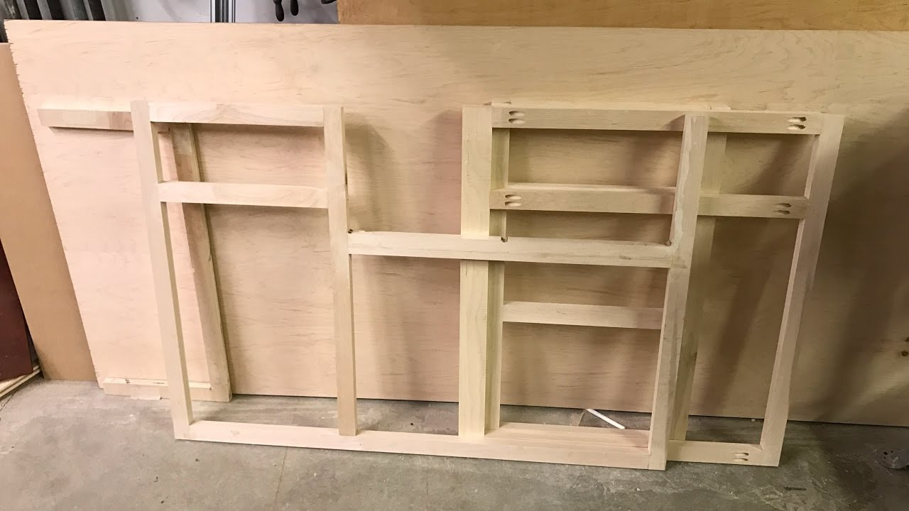Diy Kitchen Cabinet How To Remodel Wood Working Cabinets Part 1 Face Frame Youtube