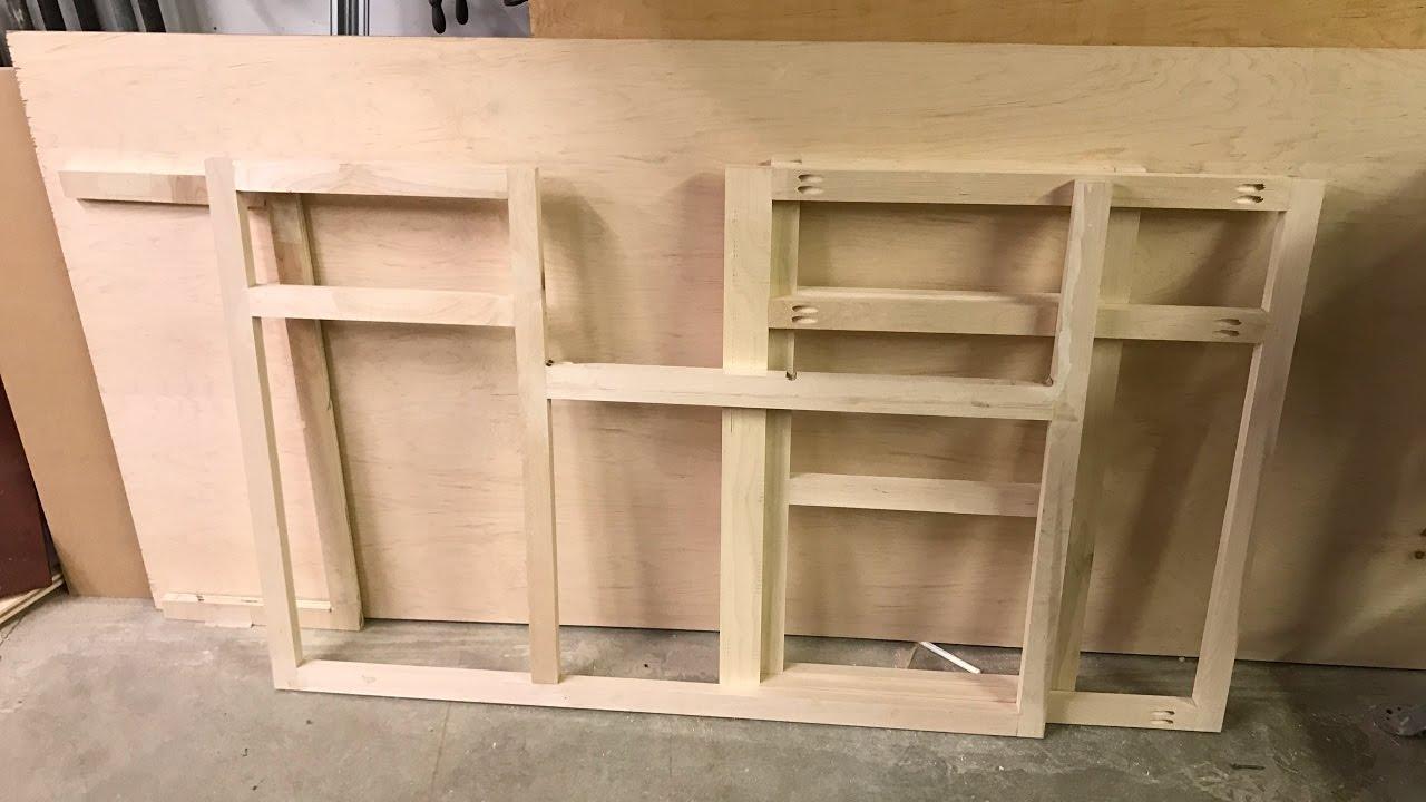 Wood working kitchen cabinets part 1 face frameDIY  YouTube