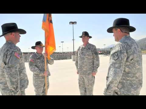 Change of Command, 1/18 Cav. CARNG, Azusa. CA