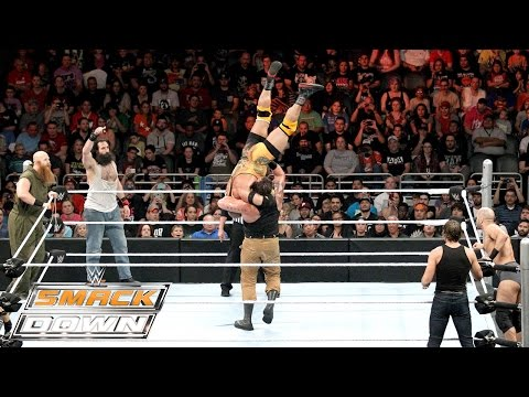 Dean Ambrose, Ryback & Cesaro Vs. The Wyatt Family: SmackDown – 29. Oktober 2015