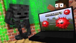 Monster School : WITHER SKELETON vs SECRET VIRUS Challenge - Minecraft Animation