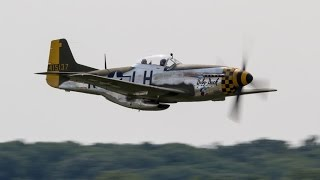 p 51 mustang aerobatics battle creek airshow 2015