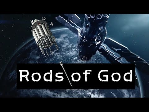 8 facts about Rods of God. [Apple Tree] Space weapon, Future weapon, Rods from God (HD)