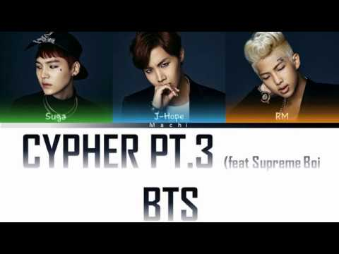 BTS (방탄소년단) (Rap Line) - Cypher pt.3: KILLER (feat. Supreme Boi) | Color Coded Lyrics |  Han/Rom/Eng