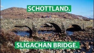 Die Sligachan Bridge auf der Isle of Skye | fernwehsendung.clip