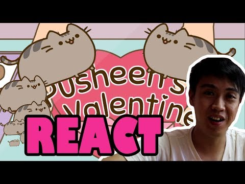 PUSHEEN'S VALENTINE 【#pusheensvalentine By Jess The Dragoon:Animation Reaction In Chinese】【中文版反应视频】