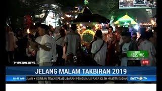 Malam Takbiran di Makassar