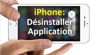 Comment supprimer une application sur iPhone (iOS)
