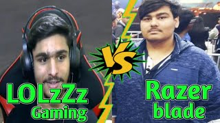 #LOLzZz #razer LOLzZz Gaming vs razer blade | DUO vs SQUAD