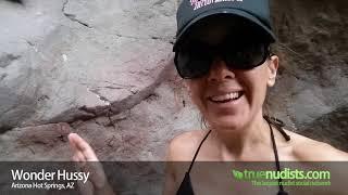 Wonderhussy visits Arizona Hot Springs - True Nudists