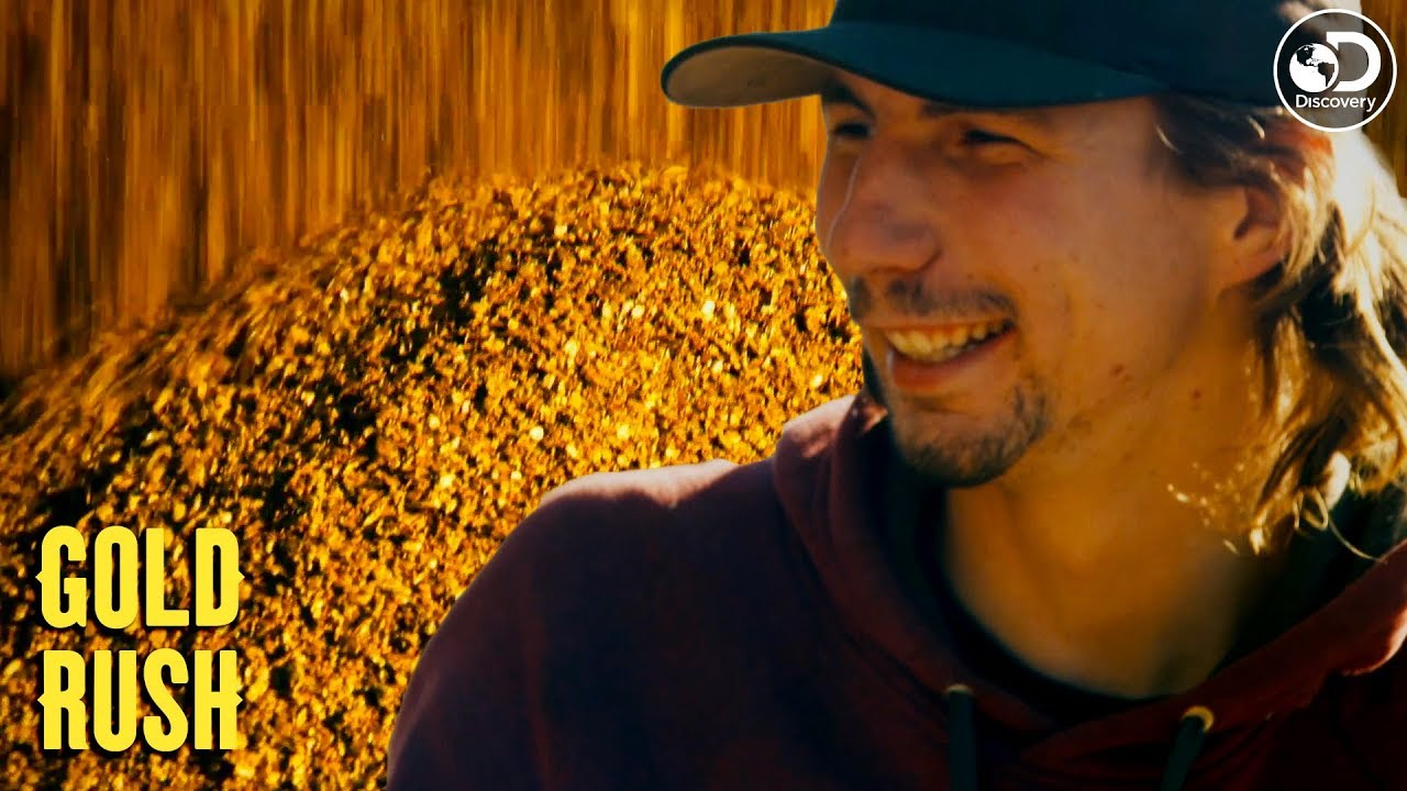 Parker Nearly Breaks His Own Gold Record Gold Rush