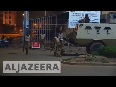 Burkina Faso: 17 dead as gunmen open fire outside Turkish restaurant in capital