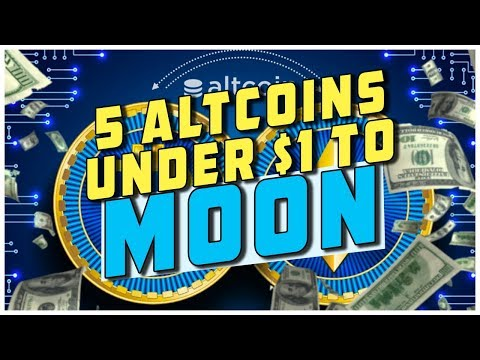 Top 5 Alts To Buy Under $1 Before 2019 Bull Run