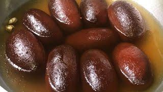 গুড়া দুধের ডিম ছাড়া একদম পারফেক্ট কালো গোলাপজাম মিষ্টির রেসেপি  Navratri Special Gulab Jamun Sweet