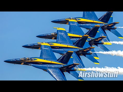 Blue Angels 2021 High Show - Super Hornets!