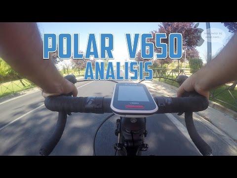 Polar V650 | Análisis pulsómetro GPS de ciclismo