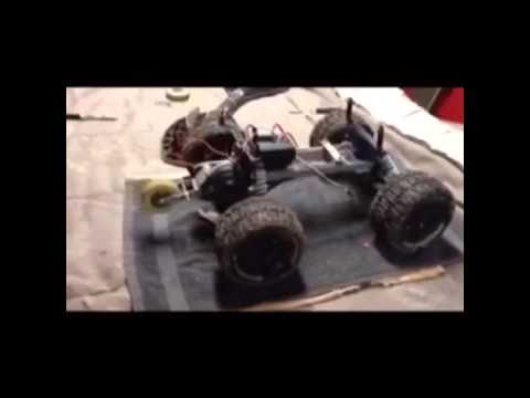 Homemade Rc Wheelie Bar Youtube